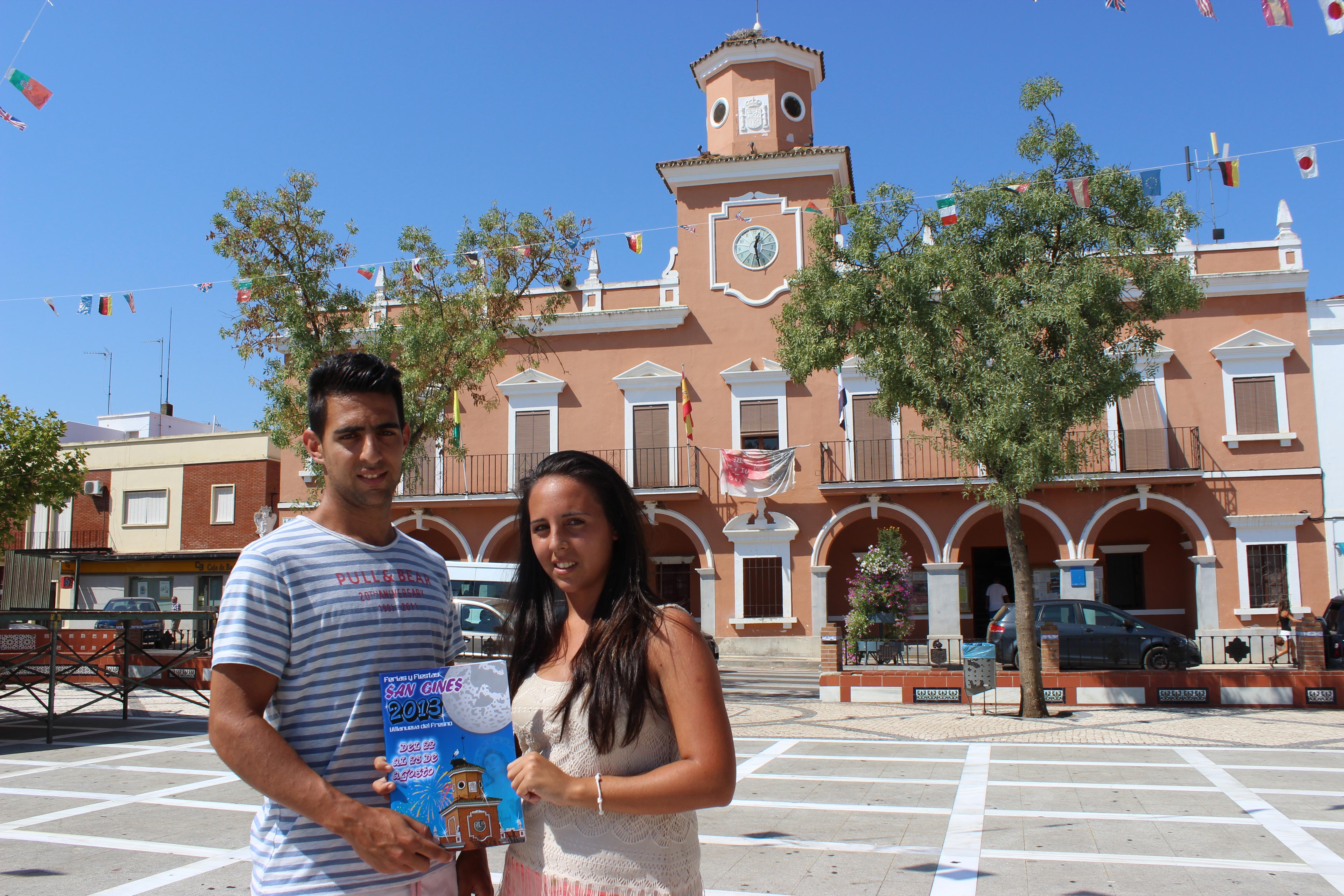Janira Moreno Gallego, ganadora del cartel anunciador de las Ferias y Fiestas de San Ginés