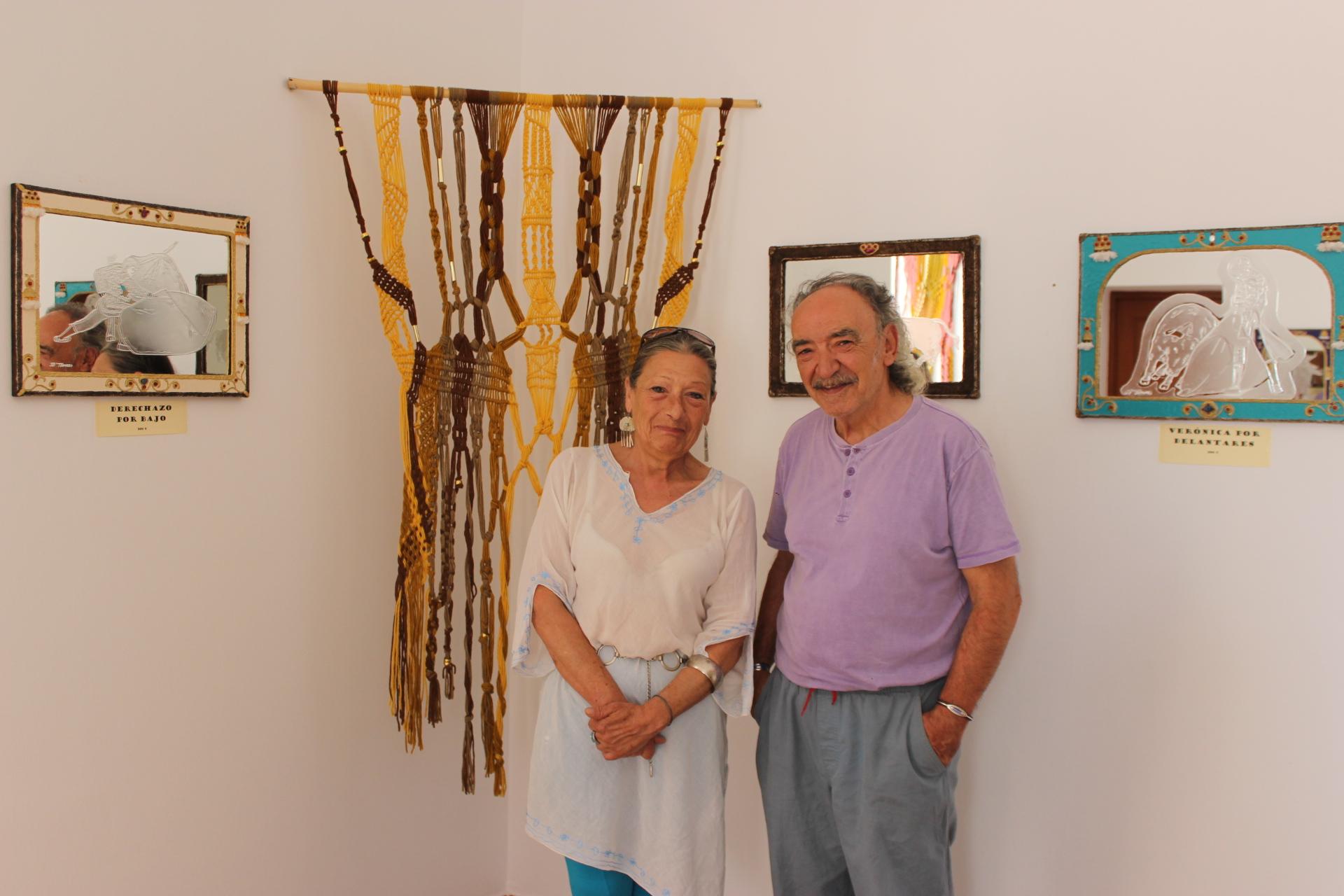 Mariano Torres y Sonja, artistas a uno y otro lado de la Raya