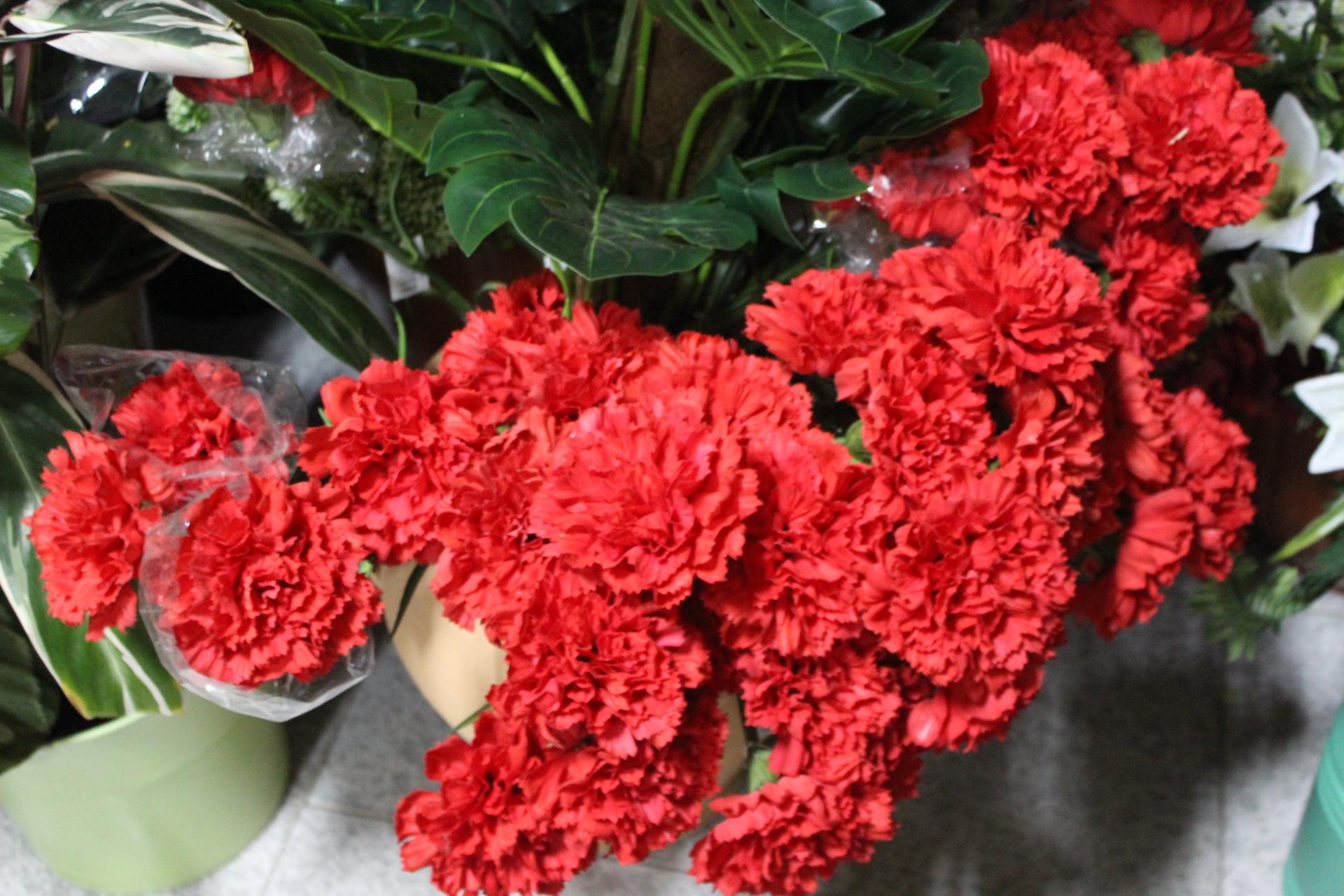 Flores para los santos